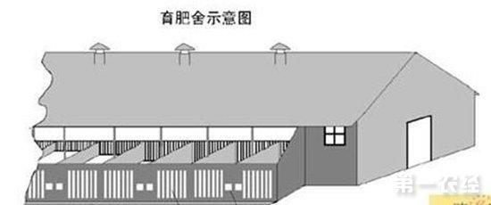 200头猪的育肥猪舍设计图与建设要点-猪场建设图片