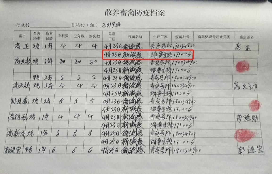 可恨!镇动物防疫站被举报发放疑似假疫苗,河南襄城农村局:正核对