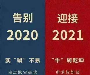 2020实属不易,2021扭转乾坤